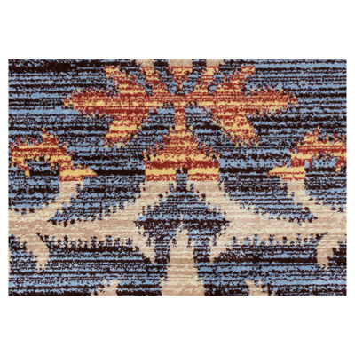 Rizzy Home Bay Side Collection Eva Stripe Rug