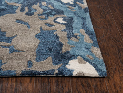 Rizzy Home Mod Collection Heiress Hand-Tufted Abstract Rug