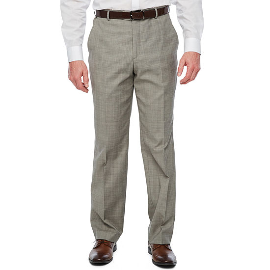 Stafford Mens Checked Classic Fit Suit Pants
