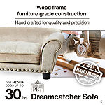 Enchanted Home Ultra Plush Dreamcatcher Pet Sofa in Caramel