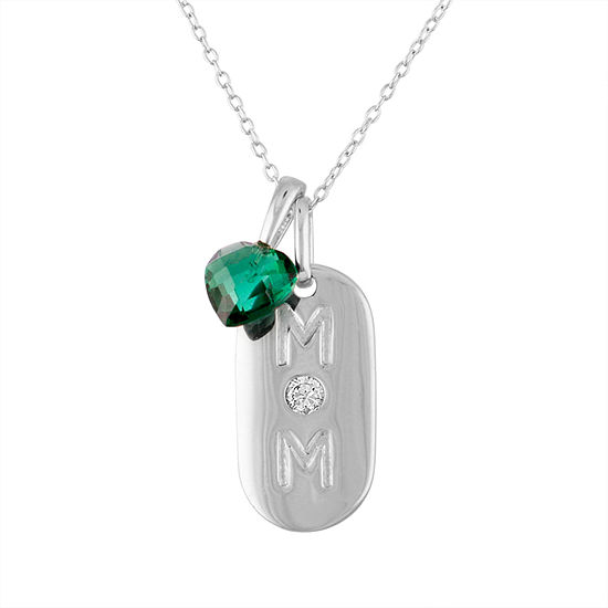Simulated Pendant Necklace