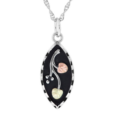 Black Hills Gold Sterling Silver Pendant