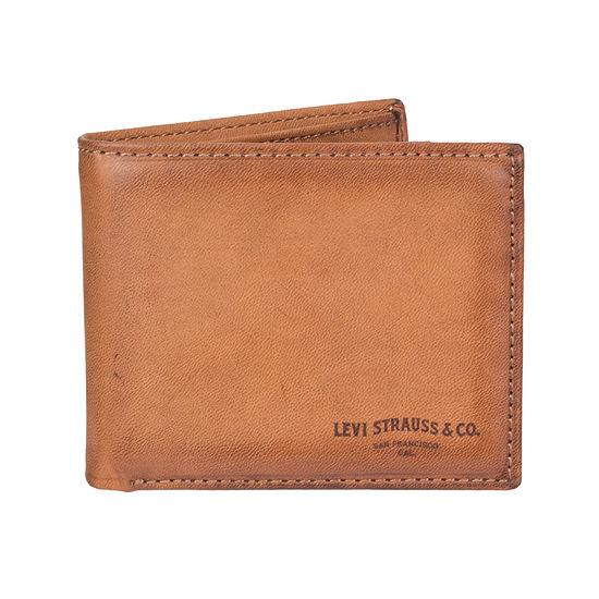 Levi's® RFID Secure Extra Capacity Bi-Fold Wallet