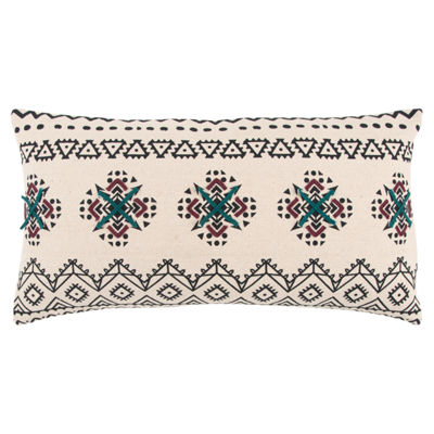 Rizzy Home Bennett Abstract Pattern Filled Pillow