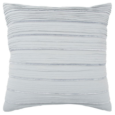 Rizzy Home 20x20 IN Nevaeh Stripe Square Throw Pillow