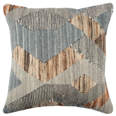 Rizzy Home 20x20 IN Lizeth Patchwork Square Throw Pillow