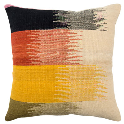 Rizzy Home 20x20 IN Jaxson Stripe Square Throw Pillow