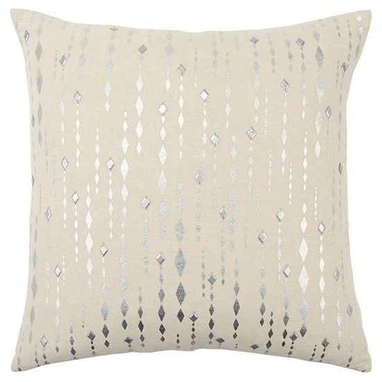 Rizzy Home 20x20 IN Brooklyn Stripe Square Throw Pillow