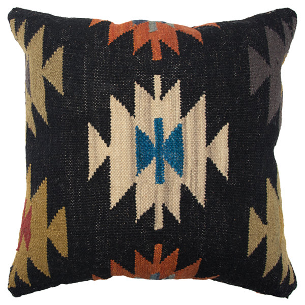 Rizzy Home 20x20 IN Jamarion Geometric Square Throw Pillow