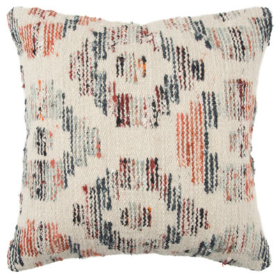 Rizzy Home 20x20 IN Maverick Geometric Square Throw Pillow
