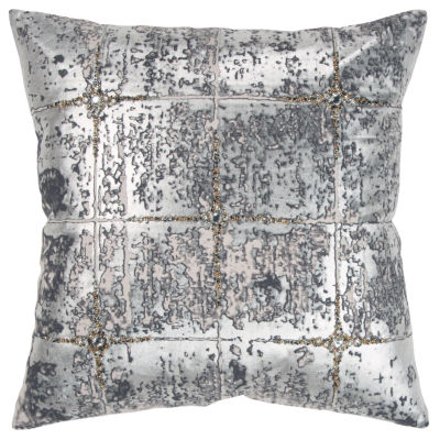 Rizzy Home 20x20 In Semaj Abstract Square Throw Pillow