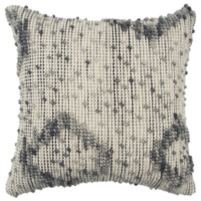 Rizzy Home 20x20 IN Messiah Abstract Square Throw Pillow