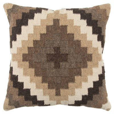 Rizzy Home 20x20 IN Jett Geometric Square Throw Pillow