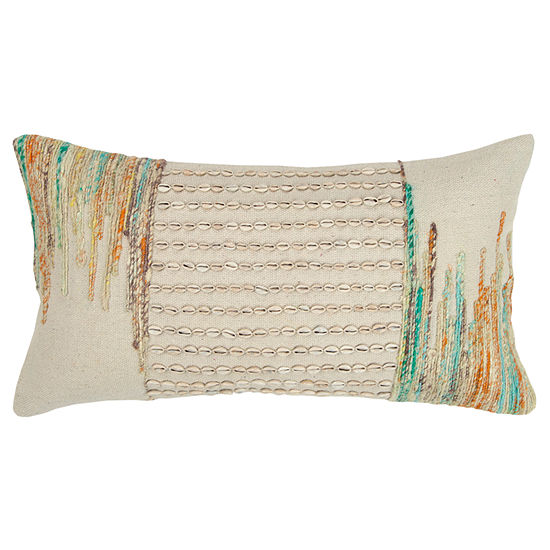 Rizzy Home 14x26 In Phoenix Stripe Oblong Throw Pillow