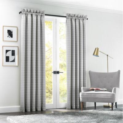 Queen Street Alta Rod-Pocket Curtain Panel