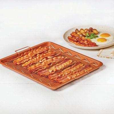 As Seen on TV Copper Chef Bacon Crisper Baking Dish