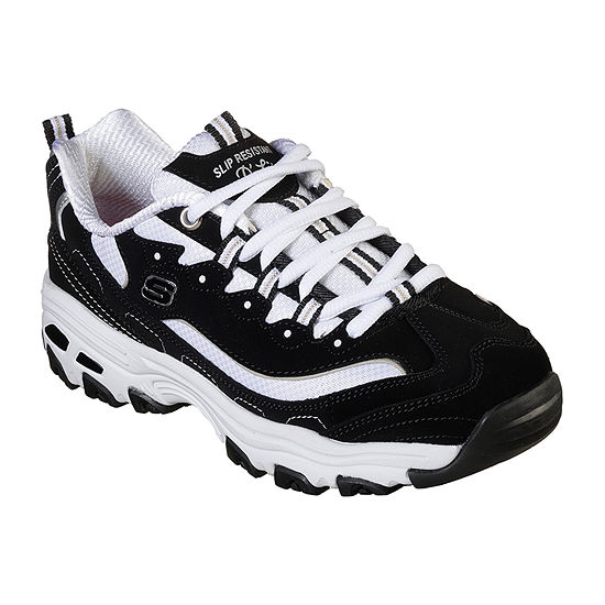 Skechers D'Lites Health Care Womens Lace-up Sneakers