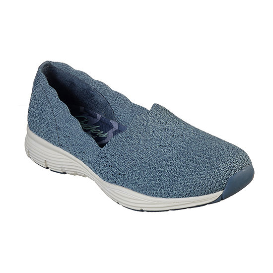 Skechers Womens Seager Slip-On Shoe Closed Toe