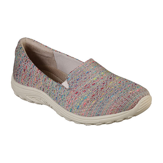 Skechers Womens Reggae Fest Slip-On Shoe Closed Toe