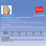 Hanes Cool Comfort™ Comfortsoft™ 4 Pack Knit Hipster Panty 47hush
