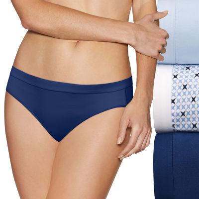 Hanes Ultimate™ Constant Comfort® X-Temp® 3 Pair Knit Bikini Panty 42xtb4