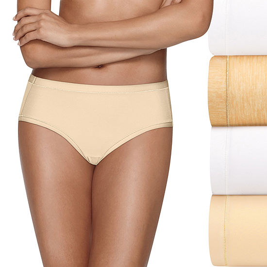 Hanes Ultimate™ Cool Comfort™ Low Rise 4-pc. Brief Panty Hxmfbf