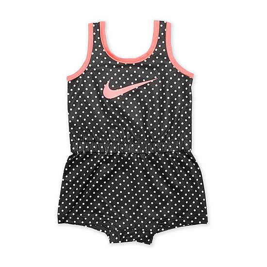 Nike Sleeveless Romper Baby Girls