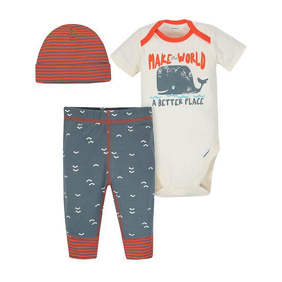 Gerber Boys 3-pc. Bodysuit Set-Baby