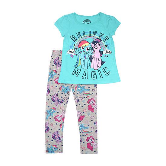 Girls 2-pc. My Little Pony Legging Set-Toddler