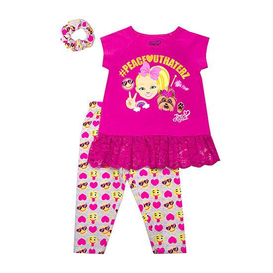Jojo Siwa 3-pc. Legging Set-Toddler Girls