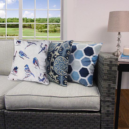 Home Fashions International Celestial Square Throw Pillow