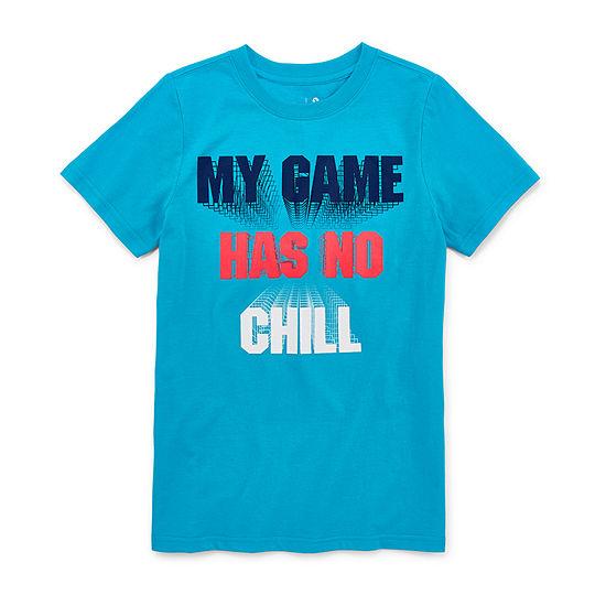 Xersion Boys Crew Neck Short Sleeve Graphic T-Shirt