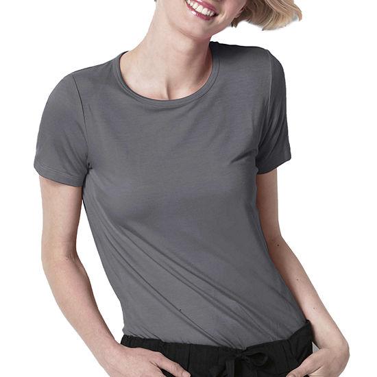 WonderWink® Layers 2209 Silky Knit Womens Short Sleeve Tee - Plus.
