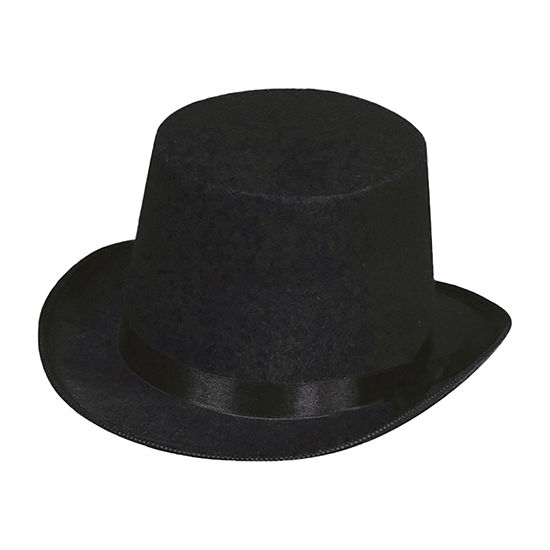 Black Top Hat Dress Up Accessory
