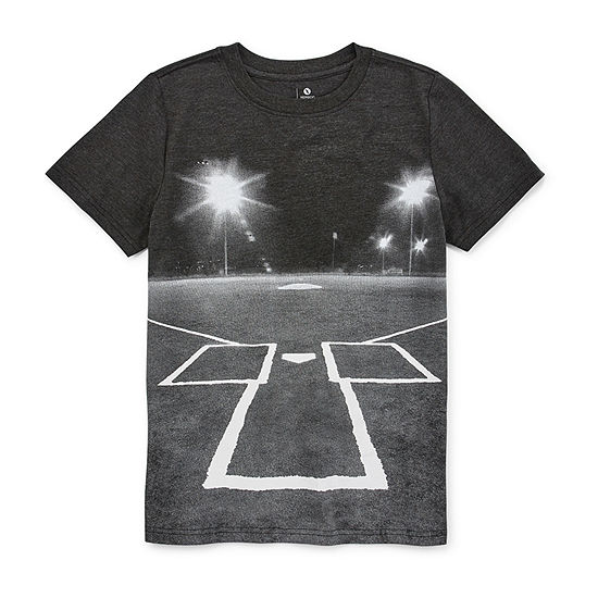 Xersion Boys Crew Neck Short Sleeve Graphic T-Shirt