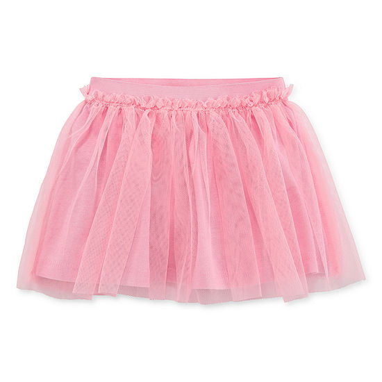 Okie Dokie Girls Elastic Waist Short Tutu Skirts Baby