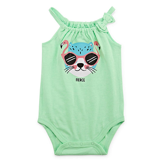 Okie Dokie Girls Bodysuit-Baby