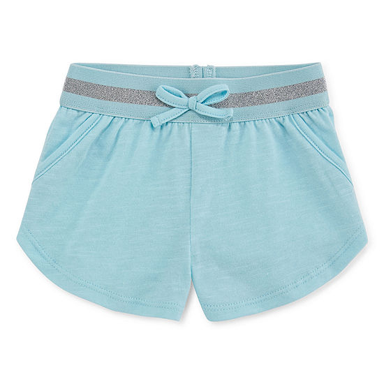 Okie Dokie Pull-On Short - Baby Girls