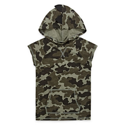 Okie Dokie Boys Short Sleeve Hooded T-Shirt - Toddler