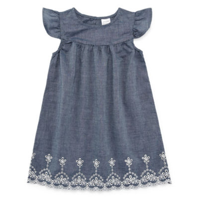 Peyton & Parker Short Sleeve Shift Dress - Toddler Girls