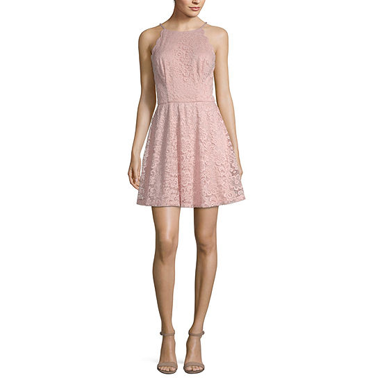 Byby Sleeveless Skater Dress Juniors