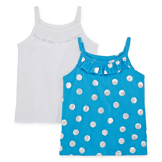 Okie Dokie 2-pc. Girls Round Neck Tank Top - Toddler