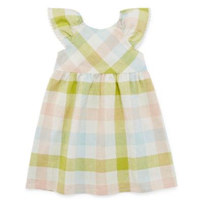 Peyton & Parker Sleeveless Shift Dress - Toddler Girls