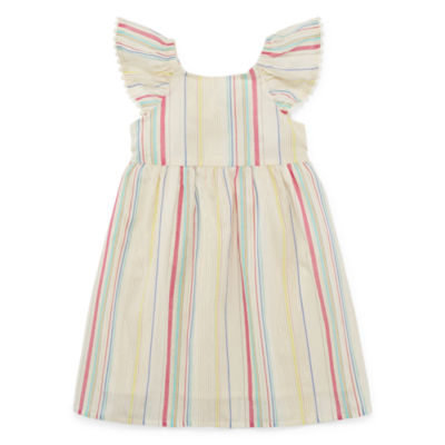 Peyton & Parker Girls Sleeveless Shift Dress - Toddler