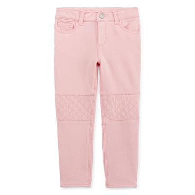 Okie Dokie Girls Tapered Pull-On Pants - Toddler