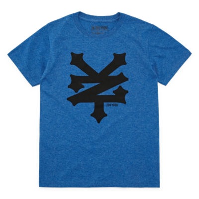 Zoo York Boys Crew Neck Short Sleeve Graphic T-Shirt-Big Kid