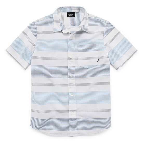 Vans Little & Big Boys Short Sleeve Button-Down Shirt