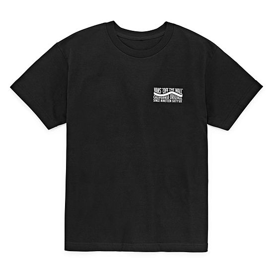 Vans Boys Crew Neck Short Sleeve Graphic T Shirt Preschool Big Kid