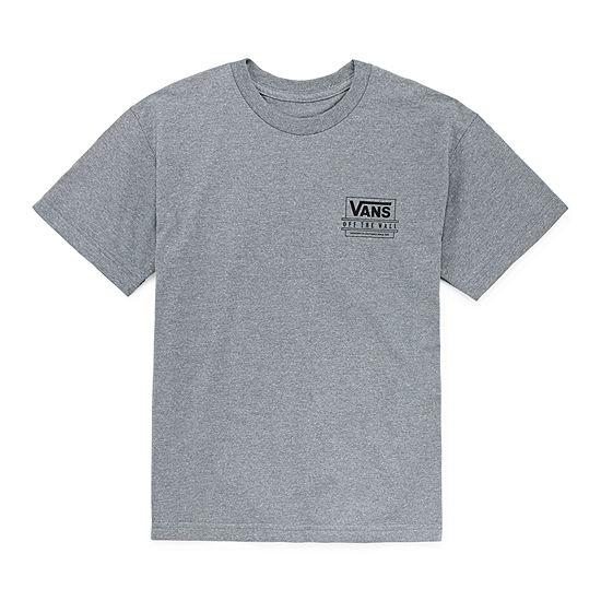 Vans Boys Crew Neck Short Sleeve Graphic T-Shirt - Preschool / Big Kid