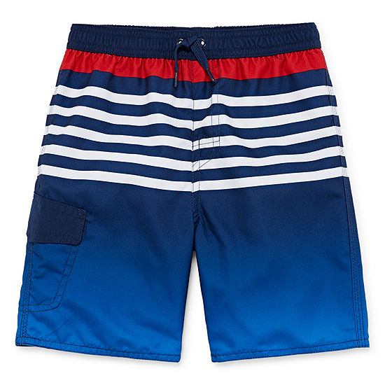 b6cd8e5949 Okie Dokie Boys Ombre Swim Trunks-Toddler - JCPenney